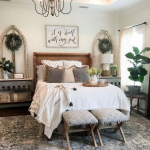 ✔ 45 Favorite Farmhouse Master Bedroom Decorating Trick Match For Any Room 6~ ...