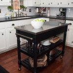 11 Types of Small Kitchen Islands & Carts on Wheels (2019)