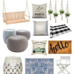 12 amazing farmhouse porch decorating ideas for small or large porches.  These a...