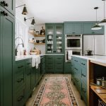 13 Envy-Inducing Green Cabinets That Will Make Your Houseguests Jealous   Hunker