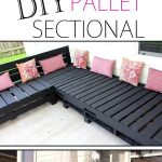 Pallet Furniture DIY – Patio Sectional
