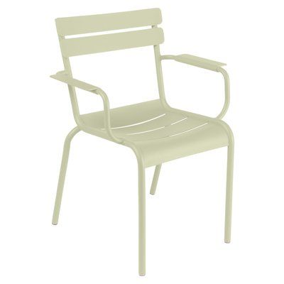 Fermob Luxembourg Stacking Arm Chair   Perigold