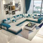 Online Shop living room furniture modern L shaped fabric sectional sofa set design couches for living room with chaise longue ottoman | Aliexpress Mobile