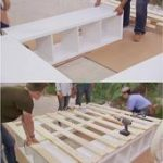 Creative Ideas - How to Build a Platform Bed with Storage -