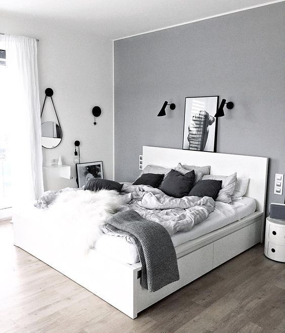 25 Black and White Bedrooms Interior Design Trends for 2019 Isabellestyle Blog