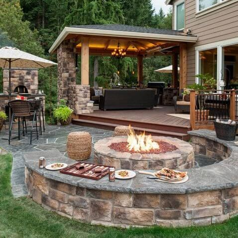 28 Backyard Seating Ideas   Page 18 of 28   Worthminer