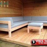 30 Easy Pallet Lounge Garden Designs For Outdoor Seating #Outdoorpallet