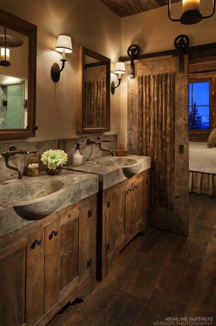 30+ Gorgeous Rustic Bathroom Decor Ideas to Try at Home – FarmFoodFamily