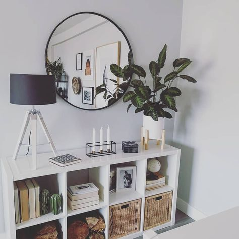 30 Ways Your Home Make Comfy With Round Mirrors