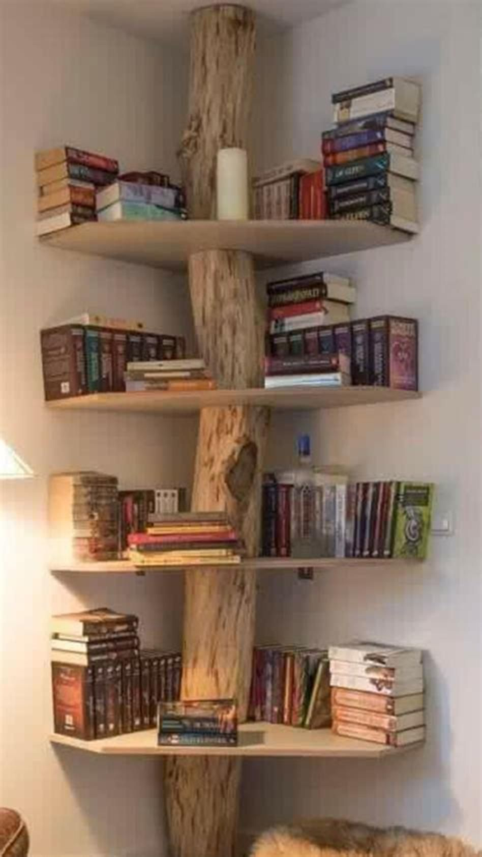 35 Unique and Creative Bookshelves Design Ideas – DecoRecent