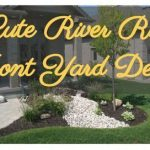 40 Cute River Rocks for Front Yard Design #riverrocklandscaping 40 Cute River Ro...