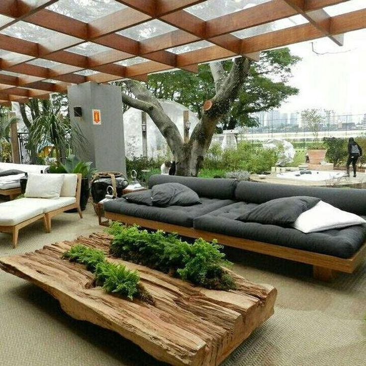 40 Fabulous Contemporary Backyard Patio Ideas – #backyard #Contemporary #Fabulou…
