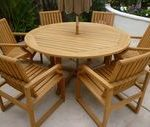 41 dans ...- 41 Inch Round Table  – Cool Storage Furniture Check more at www.k...