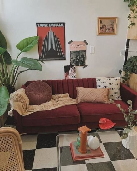 43 new ideas for apartment vintage modern couch