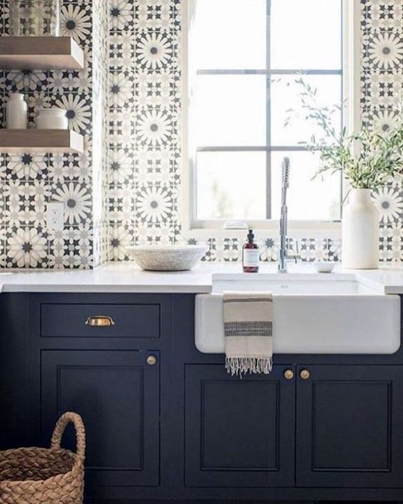 45 Inspiring Blue And White Kitchen Ideas To Love