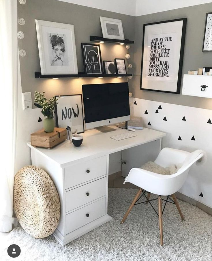 45+ Perfect Idea Room Decoration Get it Know | Modern Home Office Room Ideas | Home Office Sp…
