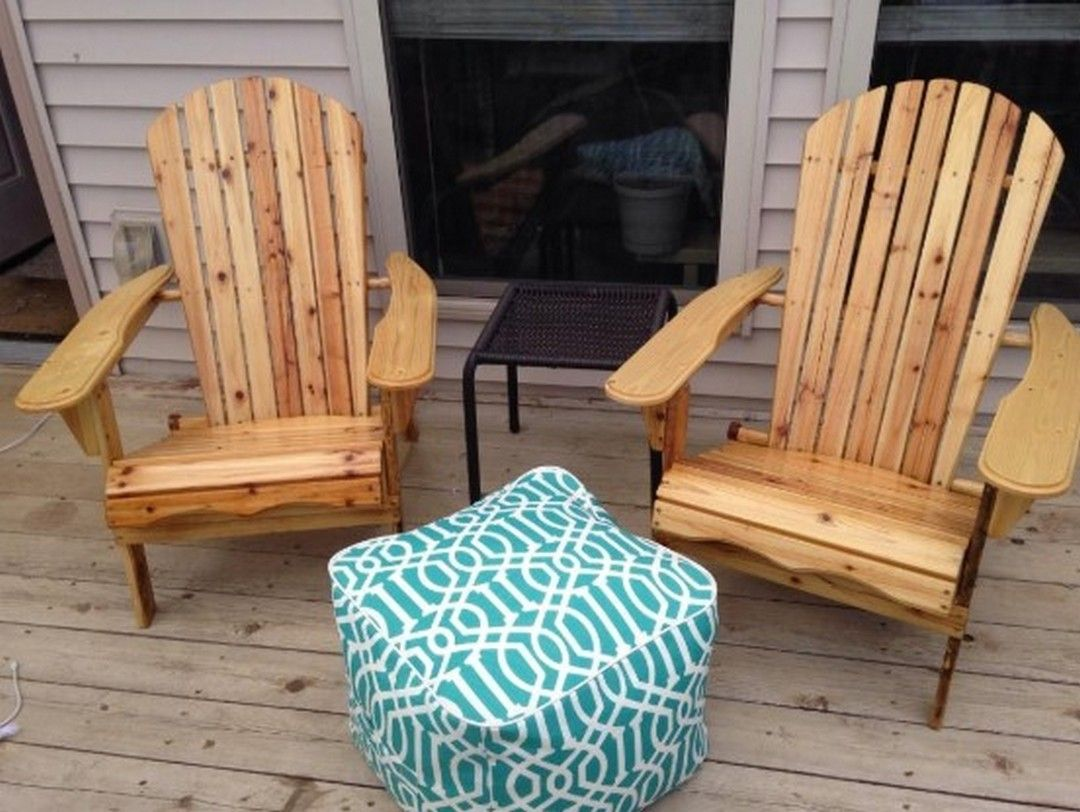 5 A Classic Style Adirondack Chair For Your Terrace