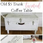 $5 Old Trunk Coffee Table (A Thrifty Makeover!)