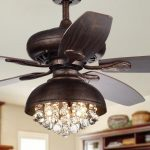 """52"""" Davidson 5 Blade Ceiling Fan with Remote, Light Kit Included"""