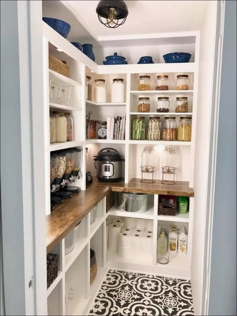 55+ The Best Way Pantry Shelving Ideas to Make Your Pantry More Organized | Blog…
