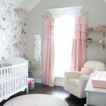 A Floral Pink and Gray Nursery for Jillian: The Reveal