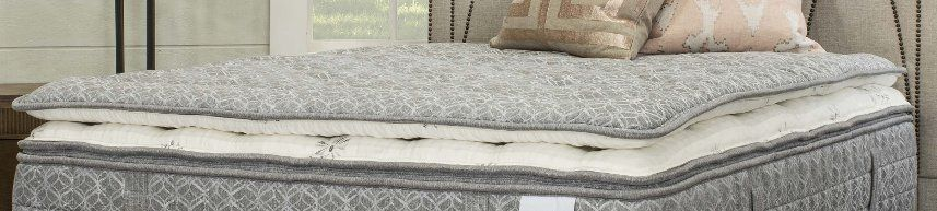 Aireloom King Size Luxury Topper – White Label