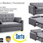 Augustine Space Saving Full Or Queen Size Modern Sofa Bed