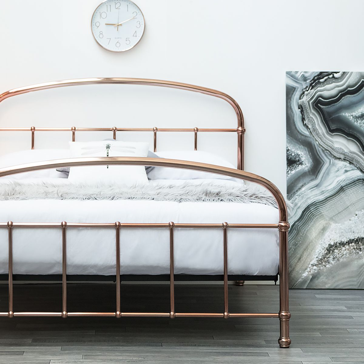 Beautiful Copper Metal Bed Frame on SALE
