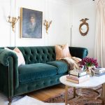 Before & After: A Classic Glamour Living Room Reveal • A Glass of Bovino