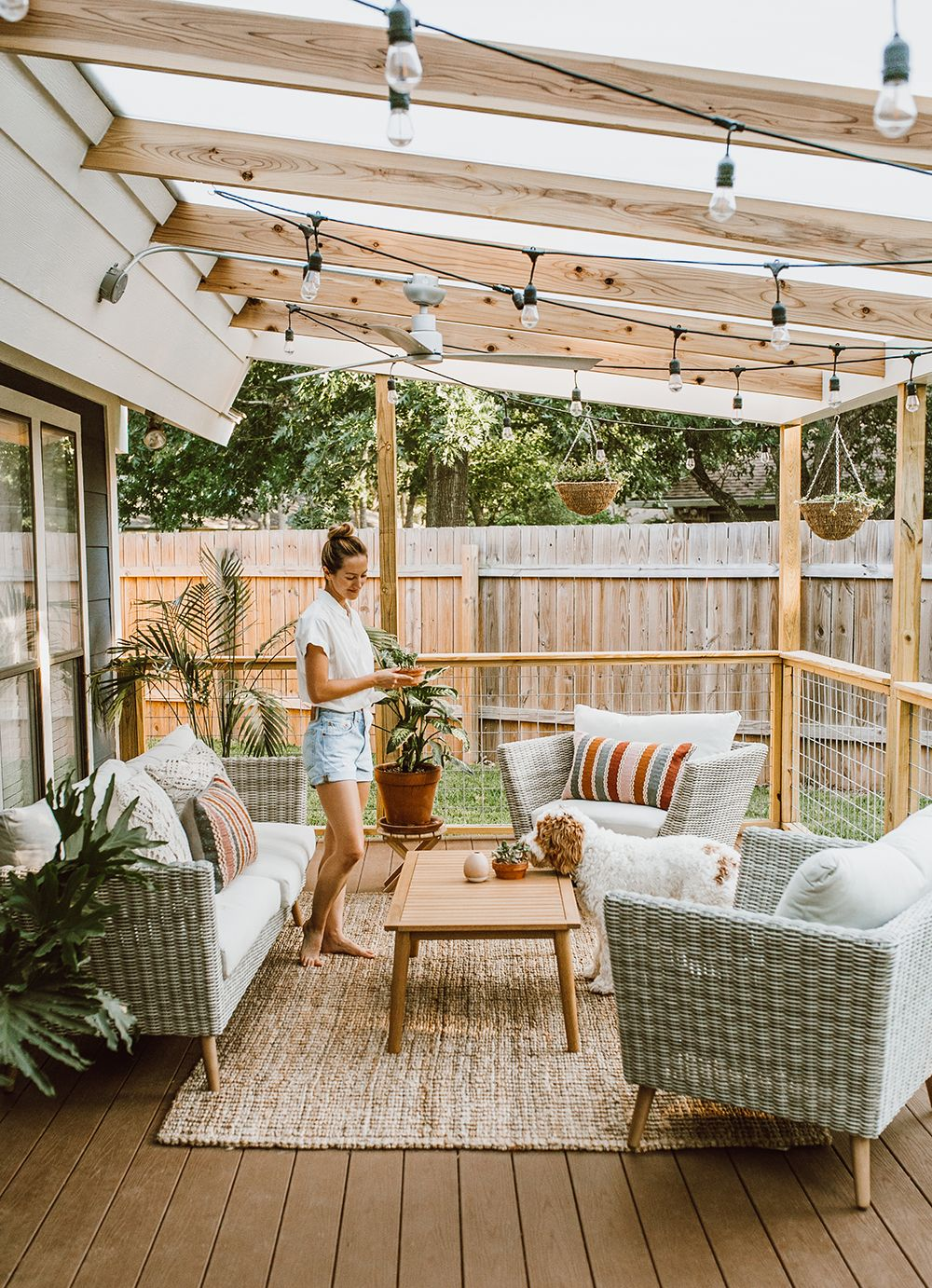 Before & After: Our Patio Reveal! – LivvyLand|Austin Fashion and Style Blogger