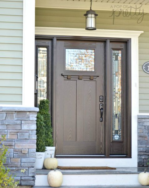 Best Front Doors for Every Home Style (Masonite) – A Pop of Pretty Decor Ideas
