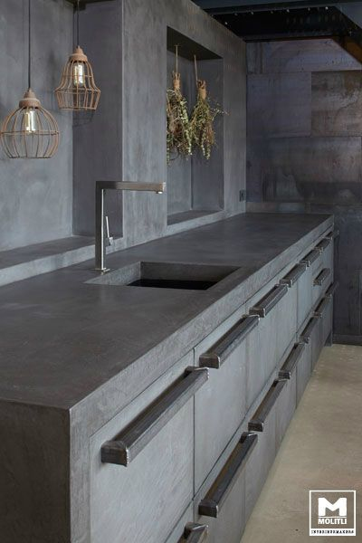 Beton Küche Design,  #kitchen #kitchendesign #kitchenremodel