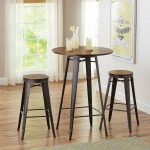 Better Homes and Gardens Harper 3-Piece Pub Set, Bronze - Walmart.com