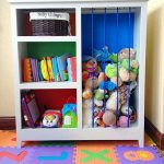Book case and stuffed animal storage. This would be Perfect for my son's room