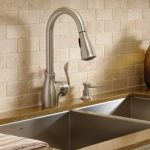 Boutique Spot resist stainless one-handle high arc pulldown kitchen faucet  -- CA87006SRS