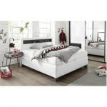 Box spring- Boxspringbetten  bruno banani Boxspring bed with wooden insert and L...