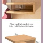 Build a Floating Bedside Table - That's how it's done! -