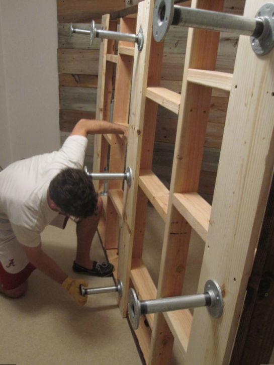 Building of the Bed Frame