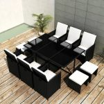 Buttram 11 Piece Dining Set with Cushions