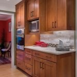 COLORS... Microwave in cabinetry & under mounted lighting!! Must have!! white qu...