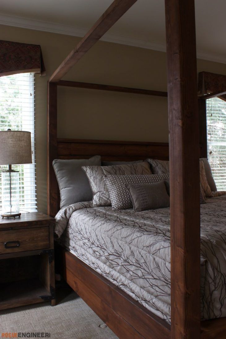 Canopy Bed – King Size » Rogue Engineer