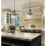 "Charleston 13 1/2"" Wide Clear Glass and Bronze Pendant Light - #4F066 