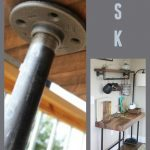 Check out this awesome DIY tutorial. Takes minimal tools, basic lumber and pipe....