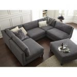 Chelsea Symmetrical Modular Sectional with Ottoman
