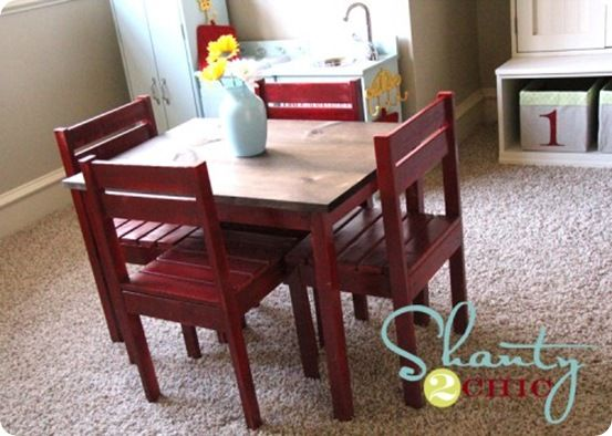 Children's Play Table and Chairs – KnockOffDecor.com