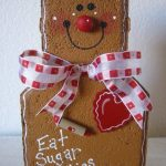 Christmas Outdoor Decoration, Holiday Decor, Yard Art, Garden Decor, Garden Decoration, Outdoor Decor, Gingerbread Man Patio Person