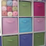 Closetmaid Cubeicals - Great idea for my knitting room...love this colourful ide...