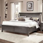 Commentary Wing Storage Bed (Steel)