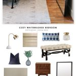 Copy Cat Chic Room Redo | Cozy Whitewashed Bedroom - copycatchic