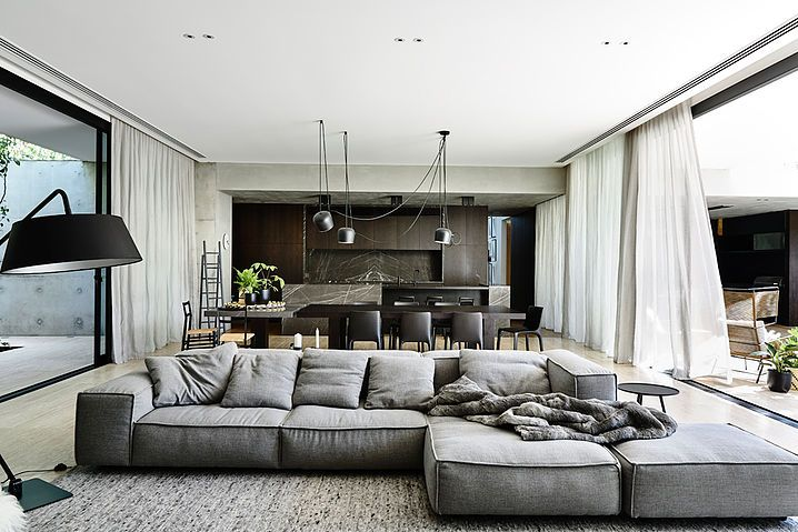 Creating More Spacious and Alive Living Room by Minimalist Design – Samoreals